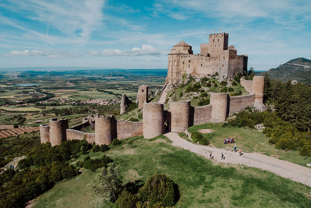 castillos medievales romanico en tiempos de reconquista