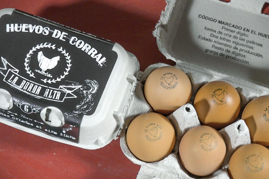huevos camperos la borda alta