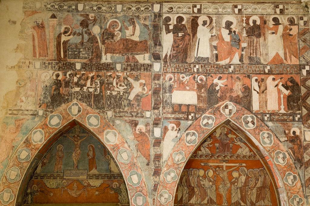 iglesia de san miguel de foces ibeica el gotico lineal
